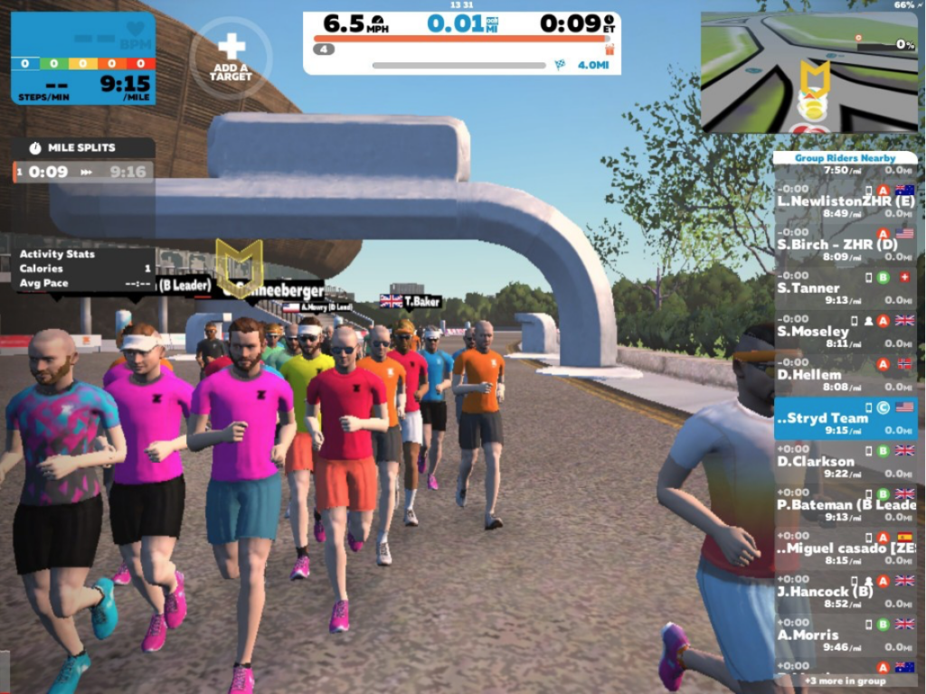 Live From The London Marathon Expo -- Run With Nick on Zwift